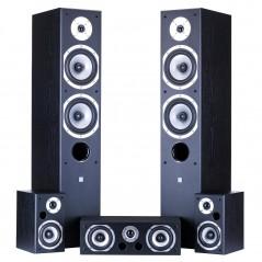 Lautsprecherset 5.0 MOVIX WENGE